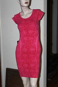 Shortsleeve Bebe s Dress Raglan Bodycon P Size ZWq8wg
