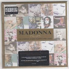 MADONNA THE COMPLETE STUDIO ALBUMS (1983-2008) BOX 11 CD  LIMITED EDI. SEALED!!!