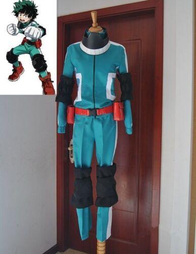 Boku no MY HERO ACADEMIA Midoriya Izuku Cosplay costume Kostüm Uniform accessory