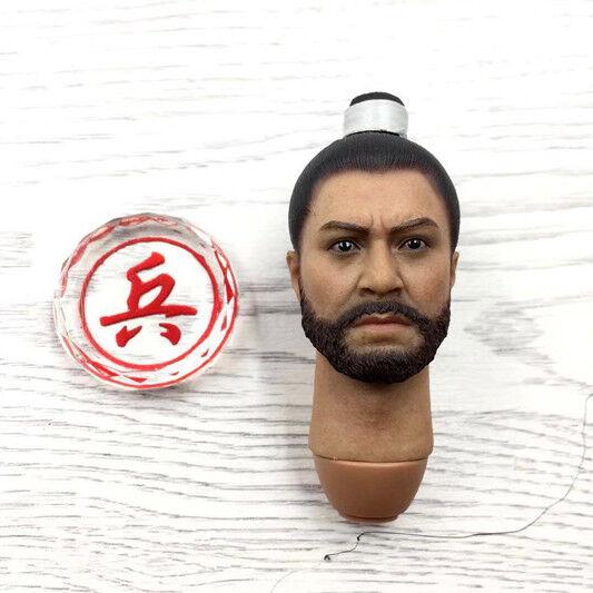 Head Sculpt for KLG-R015 Deputy General of Liaodong in Namwon war YangYuan 1/6