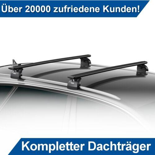 Für BMW X5 F15 5-Tür ab 13 Alu Dachträger Schwarz Thule an Integrierte Relinge