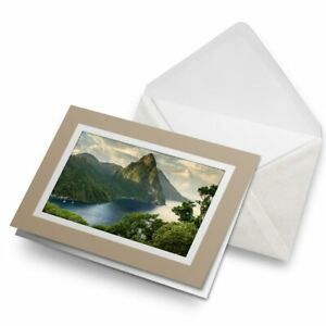 Greetings-Card-Biege-Saint-St-Lucia-Caribbean-Travel-8987