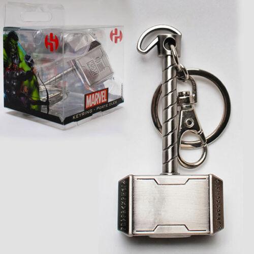Avengers MARVEL Thor/'s Hammer Mjolnir Metal Keyring Schlüsselanhänger SEMIC