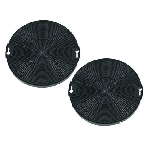 Filtre à charbon actif Rond Set Brume hotte Universel ELECTROLUX 405509371 EFG