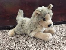 "TYSON Douglas Cuddle plush 12""  WOLF stuffed animal toy"
