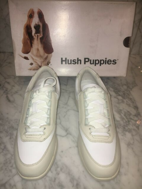 Hush Puppies Shoes Women/'s Classic Walker Off White and White