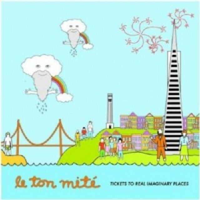 Le Ton Mite -Tickets To Real Imaginary Places CD 17 Tracks Alternative Rock Neu