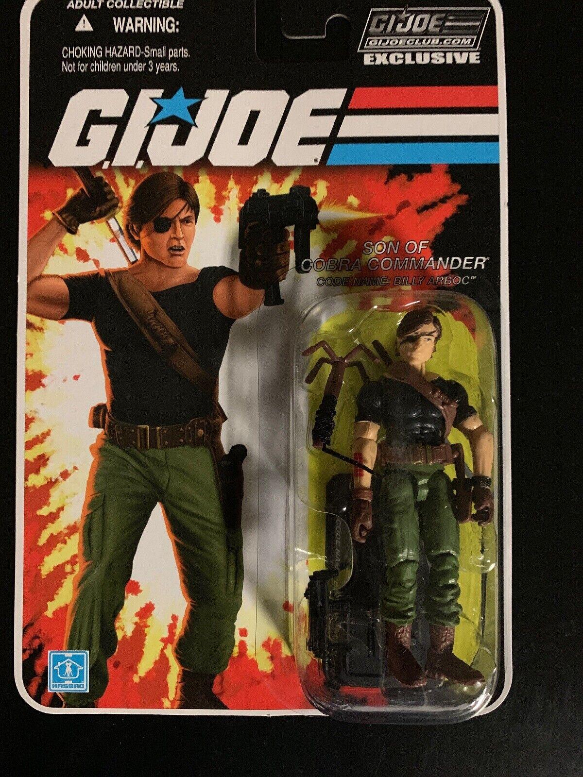 GI JOE FSS 4.0 09 Billy Arboc Son of Cobra Commander MISP