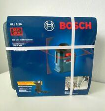 Bosch 65 360 Degree Line Amp Cross Laser Level Gll 2 20 Brand New