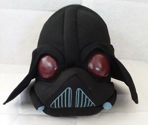 Star-Wars-Angry-Birds-Darth-Vader-Plush-7-034-Commonwealth-Toys-From-2012