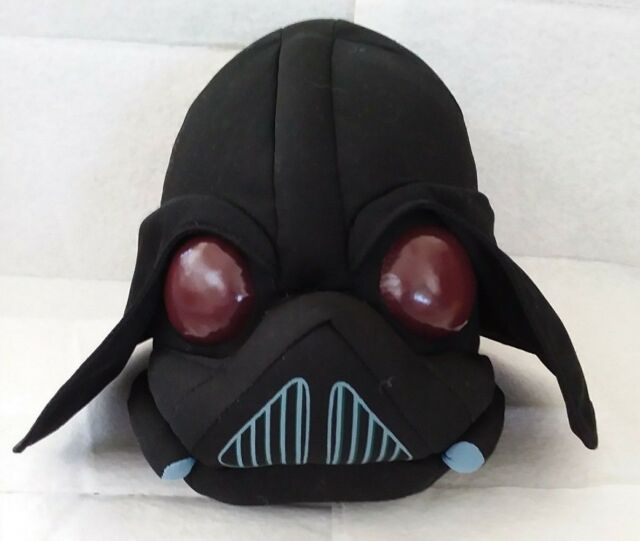 Star Wars Angry Birds Darth Vader Plush 7
