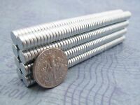 50 Neodymium Magnets - 1/4 X 1/16 N35 Disc Magnets - Crafts Strong 6mm X 1.5mm