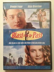 Blast-From-the-Past-DVD-1999-Brendan-Frasier-Christopher-Walken-NEW