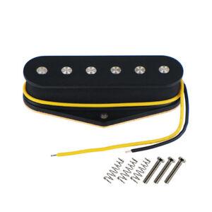 NEW-pickup-TELECASTER-BRIDGE-ceramique-black-pour-guitare-tele