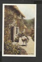 Nostalgia Postcard  The Lace Maker 1890