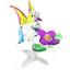 bird-7-hand-blown-clear-glass-miniature-figurine-crystal-dollhouse-art-animal thumbnail 4