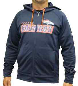 Nice Denver Broncos Majestic NFL Game Elite 2 Men's Full Zip Hooded