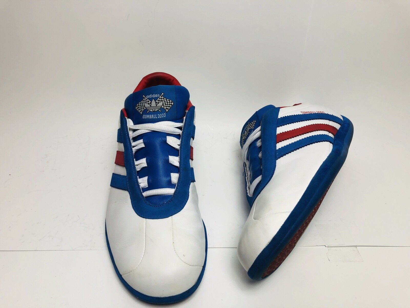 Adidas Gumball 3000 Dead Stock Leather Vintage Racing Sneakers Rare Collectors