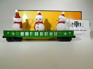 MTH-O-Gauge-Rail-King-Christmas-Gondola-w-Lighted-Snowmen-30-72211-TOTES1