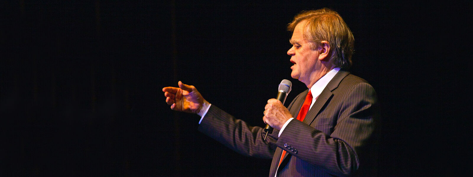 Garrison Keillor with Robin and Linda Williams