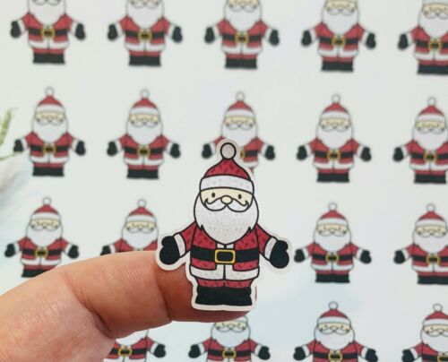 Santa autocollants Noël Autocollants enveloppe Stickers Planner stickers