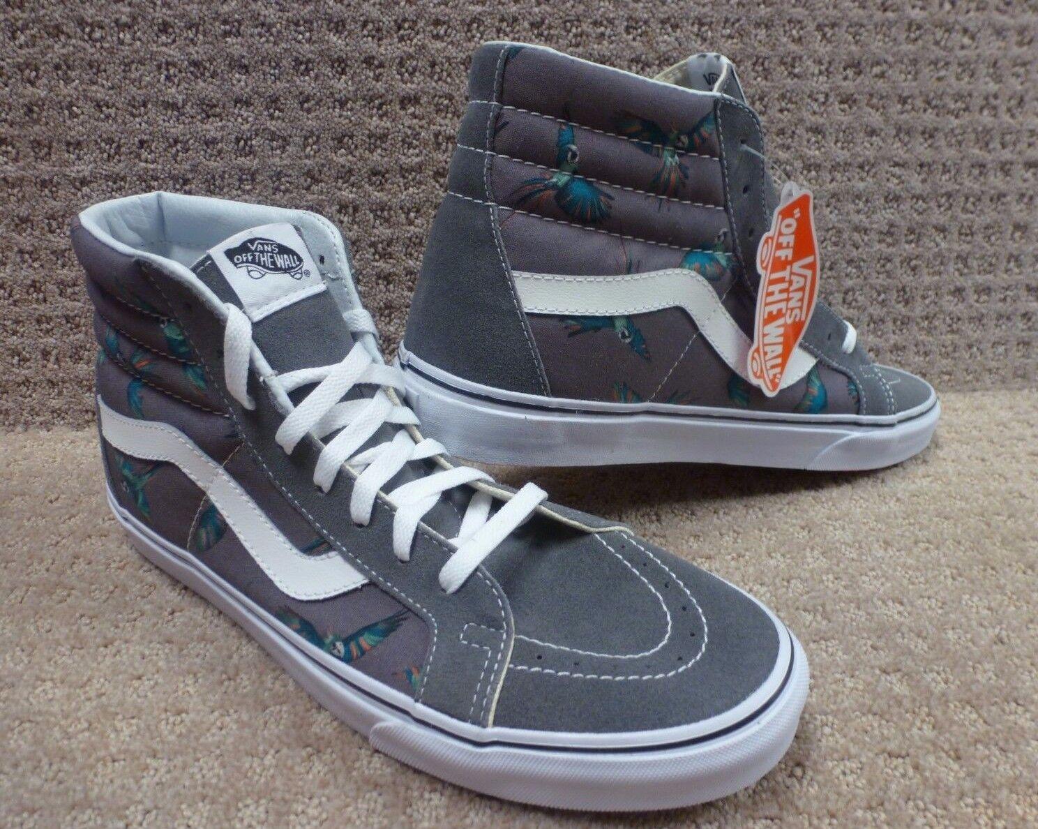Vans Men's shoes  Sk8-Hi Reissue  -- (Dirty Bird) PWTR True Wht