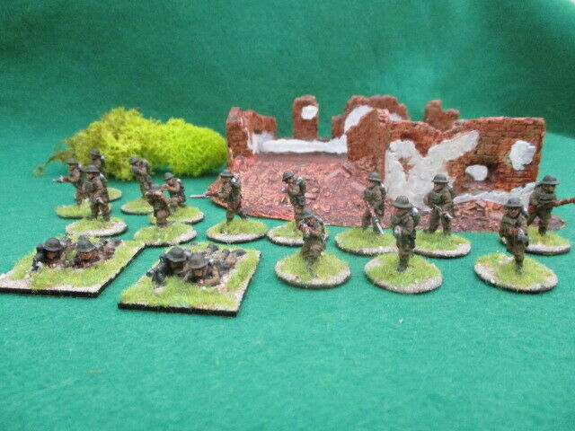 10 20 20mm Lancer Miniatures Early WW2 British Infantry figures painted to order