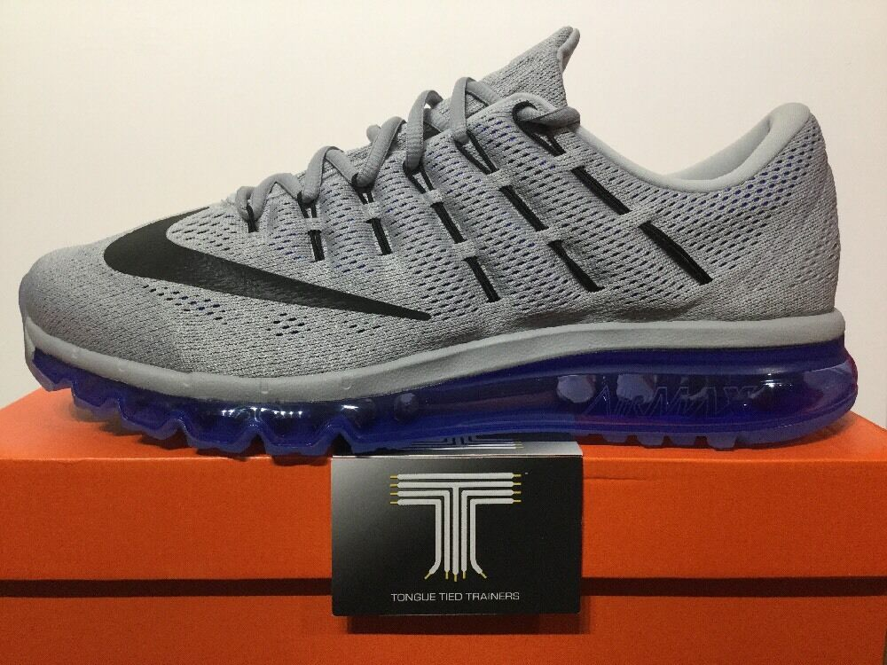 low-cost Nike Air Max 2016 ~ Wolf Grey ~ 806771 004 ~ Uk Size