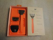 Harry's Genuine Razor - Orange Truman Handle with 2 Razor Cartridges