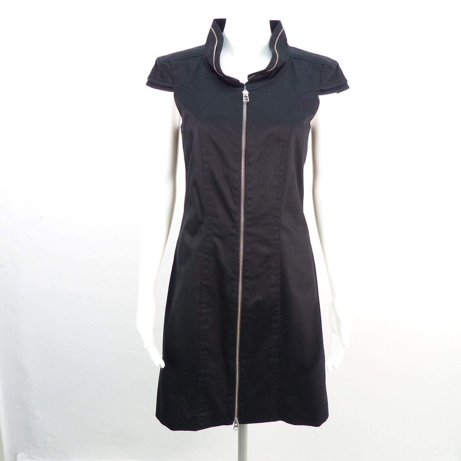 DRYKORN FOR BEAUTIFUL PEOPLE Kleid Damen schwarz Gr. 3   DE 38 Baumwolle Dress C