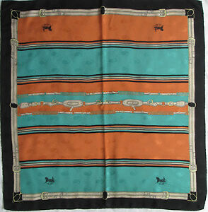 Superbe Foulard CELINE Paris 100% soie TBEG vintage scarf   eBay c58c17acbe4