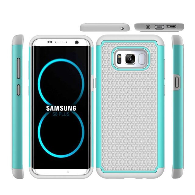 info for 3abd2 d4091 Galaxy S8+ Shock Absorption Drop Protection Hybrid Armor Rugged Defender  Case