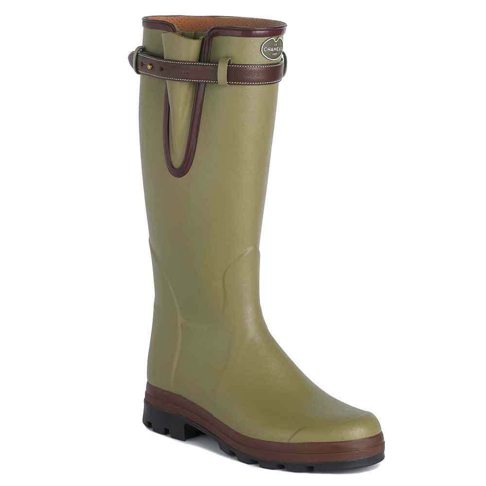 Le Chameau Mens Vierzon 50 Wellington Boot - green Vierzon