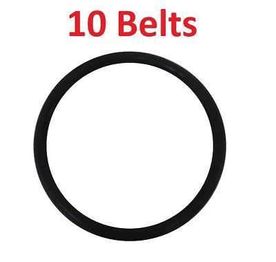 2//Pack Sanitaire Upright Vacuum Replacement Belt Round Belt