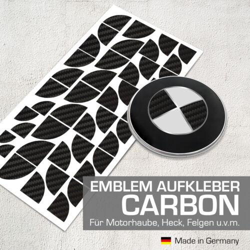 E91 3er E90 3er E92 3er Carbon Schwarz Emblem Aufkleber Ecken für BMW E89 Z4