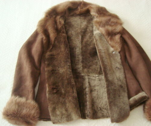 2566 Size Merino Ladies' toscana Sheepskin M Shearling Jacket WHA0WrcS