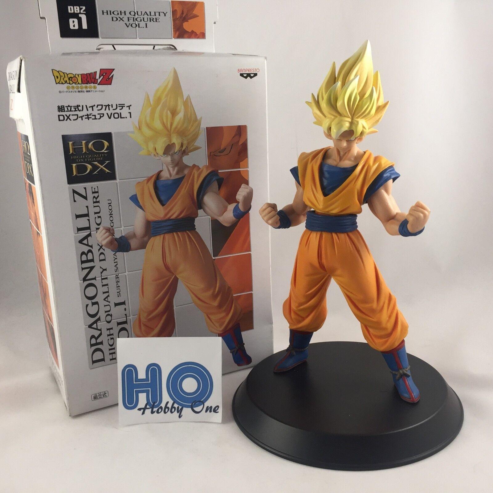 Dragon Ball Z High Quality DX Super Saiyan Sound Goku ± 20 cm Banpresto