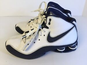 online retailer c3efa 00798 ... Image is loading Nike-Shox-Slam-TB-324803-142-Blue ...