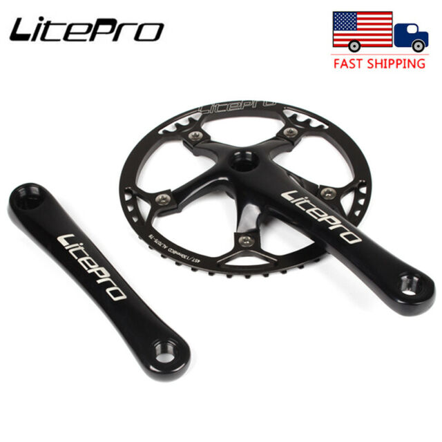 170mm 130 BCD Road Bike Crankset Bicycle Crank Sprocket Bottom Bracket Kit