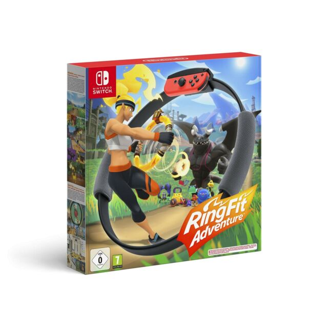 Nintendo Ring Fit Adventure for Nintendo Switch (Game + Ring-Con + Leg Strap)
