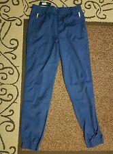 RALPH LAUREN CHINOS BOY'S  DARK NAVY BLUE TROUSERS. SIZE XL =18-20 YRS