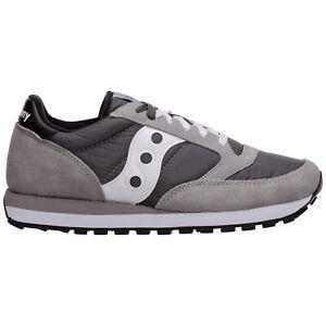 Saucony sneakers men jazz original 2044553 block heel logo detail suede shoes