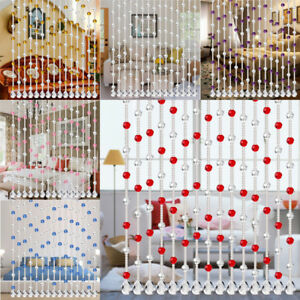 deb6a756cc6 Image is loading Crystal-Glass-Bead-Curtain-Luxury-Living-Room-Bedroom-