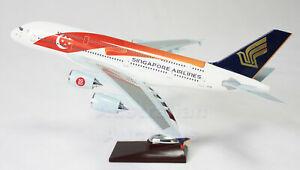 SINGAPORE-AIRWAYS-50th-Anniversary-A380-LARGE-PLANE-MODEL-APX-47cm-SOLID-RESIN