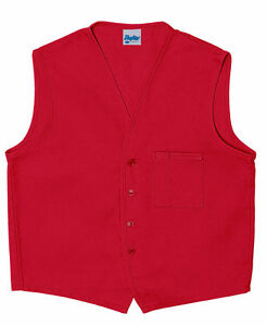 Daystar-Aprons-1-Style-740-One-Chest-Pocket-Vest-Uniform-Made-in-USA