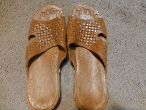 PRISON STYLE SHOWER SLIPPERS SIZE 12-LOT OF 6 PAIRS PRICE DROP!!