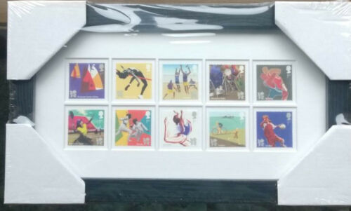 LONDON 2012 OLYMPICS 10 FRAMED ROYAL MAIL STAMPS 2011 SEALED PK PART 3