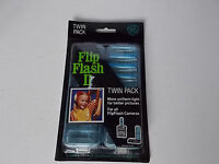 Ge Flip Flash Ii Twin Pack 2 Arrays-16 Flashes For All Flipflash Cameras