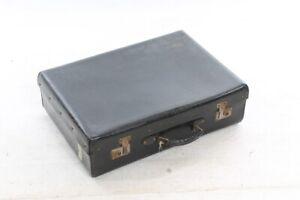 Valise Ancienne Sac Porte-documents Noir Old Vintage Remises Vente