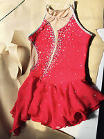 custom made to figure skating dress girls ice dresses competitition dresses yike